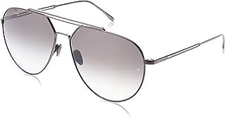 نظارات شمسية للرجال من لاكوست، لون اسود 60 ملم - L219SPC