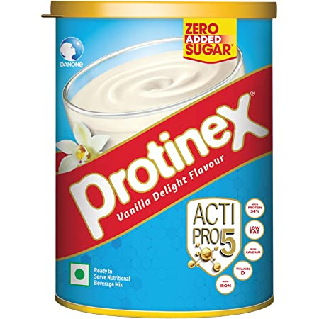 Protinex Health And Nutritional Drink Mix For Adults with High protein & 10 Immuno Nutrients, Vanilla Delight, 400g