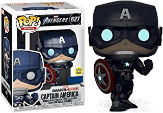 Funko Pop! Marvel: Avengers Captain America Glow In The Dark, Action Figure - 47818