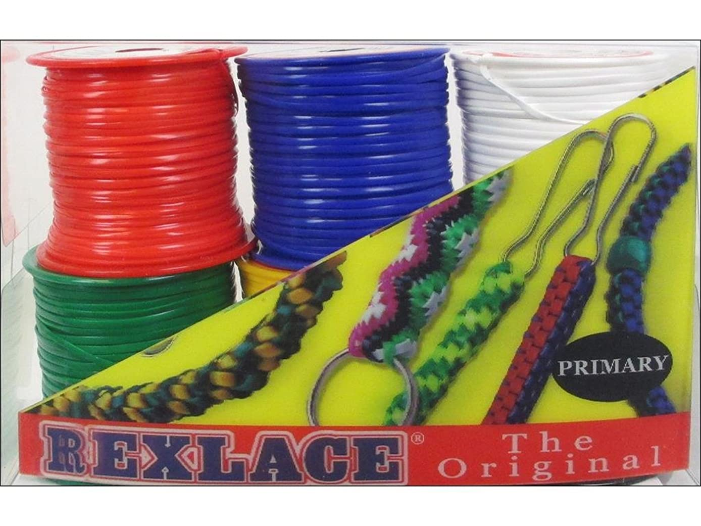 Pepperell Braiding Co. Pepperell Pk Rexlace 6 Pack Primary Colors