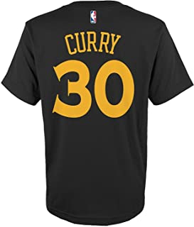 Stephen Curry Golden State Warriors #30 Black Toddler Alternate Name and Number T Shirt