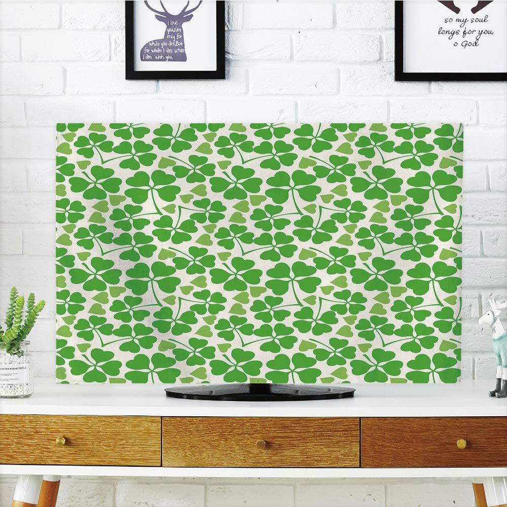 Lonsant - Funda para televisor LCD, diseño de Espiral, Tribal, Arte Antiguo, Compatible con televisores de 32 Pulgadas: Amazon.es: Electrónica