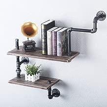 FOF FRIEND OF FAMILY Reclaimed Wood & Industrial DIY Pipes Shelves Steampunk Rustic Urban Bookshelf