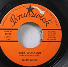 Jackie Wilson 45 RPM Baby Workout / I'm Going Crazy