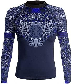 Women's Nordic Rash Guard IBJJF Approved MMA BJJ Blue