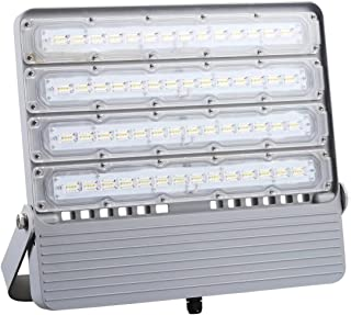 Updated 2019 200W LED Flood Light Outdoor Waterproof IP65 23000lm 1500W Equivalent 5000K Daylight, Ultra Bright Commercial Work Lighting for Tennis Courts Billboard Plaza