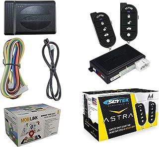 Car Security System, Remote Engine Start A4 + G3 Mobilink GPS Tracker w/App