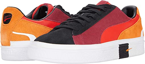 Puma Black/Jaffa Orange/Rhubarb