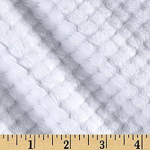 "Shannon Fabrics""""Shannon Minky Cloud Spa Cuddle, Snow"