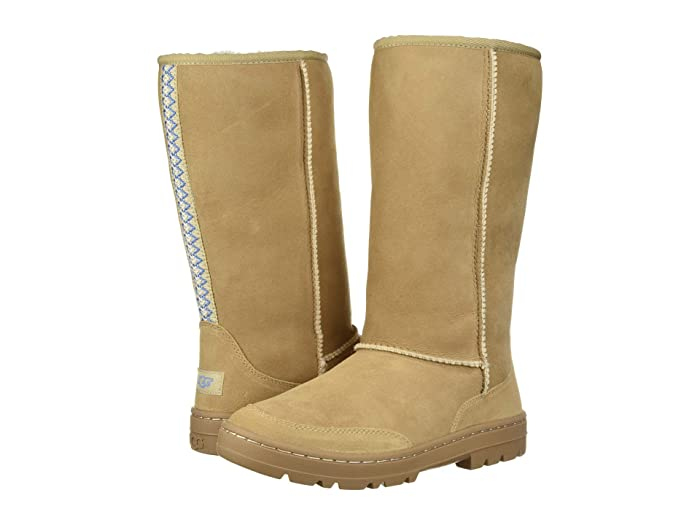 UGG  Ultra Tall Revival (Sand) Womens Pull-on Boots