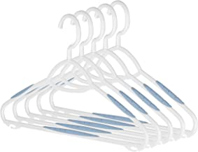 Whitmor Sure-Grip Plastic Hangers (Set of 5)