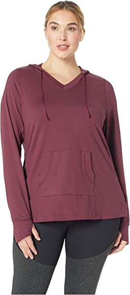 Plus Size Zahara Solid Hoodie