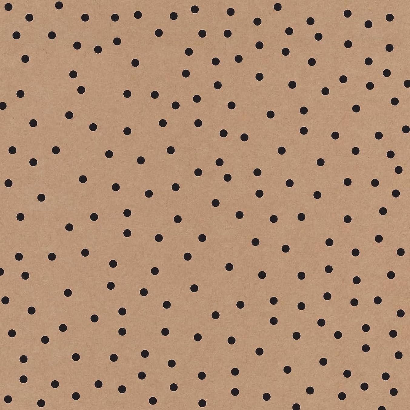 American Crafts 370851 DIY Shop 3 Kraft Cardstock (15 Sheets Per Pack), 12
