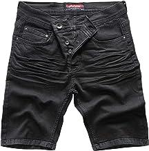 Rock Creek Pantalones Cortos para Hombres Shorts Denim M50