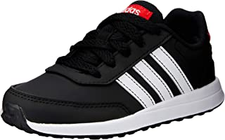 adidas Australia Boys VS Switch 2 Trainers, Core Black/Footwear White/Active Red