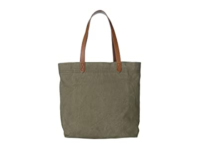 Madewell Canvas Medium Transport Tote (British Surplus) Tote Handbags