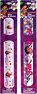 SOLD in 12 Pieces - New DORA Slap Bracelets Bands Toys Perfect for Birthday Party Favor Goodie bags