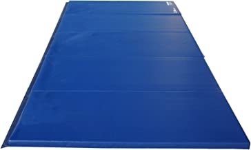 Z-Athletic Folding Panel Mats for Gymnastics, Martial Arts, Tumbling