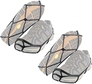 Yaktrax Walk Traction Cleats for Walking on Snow and Ice 2 Pair