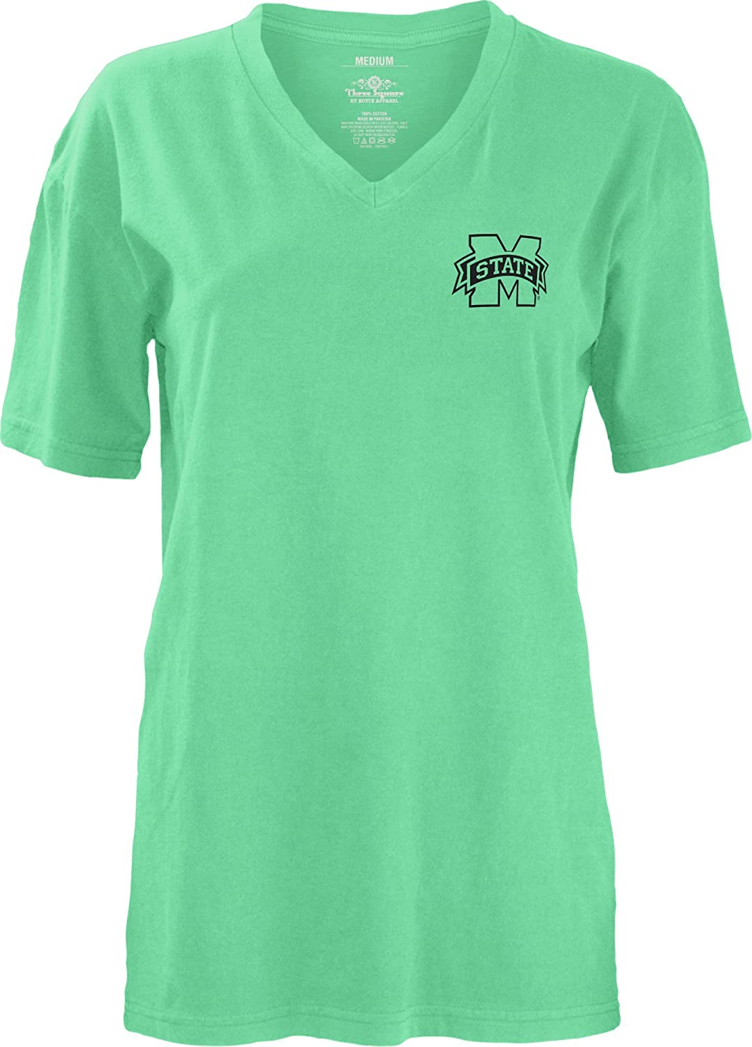 Three Square by famous Royce Apparel NCAA Women's Smitten V-Neck 2021new shipping free Short