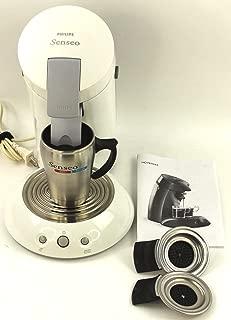 senseo 7810 single serve gourmet coffee machine black