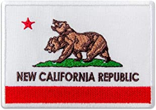 Fallout New California Republic Flag Embroidered Patch Iron On (4