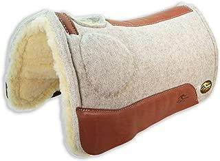 Southwestern Equine OrthoRide Elite Saddle Pad Premium Tan Topper with Fleece Bottom 1