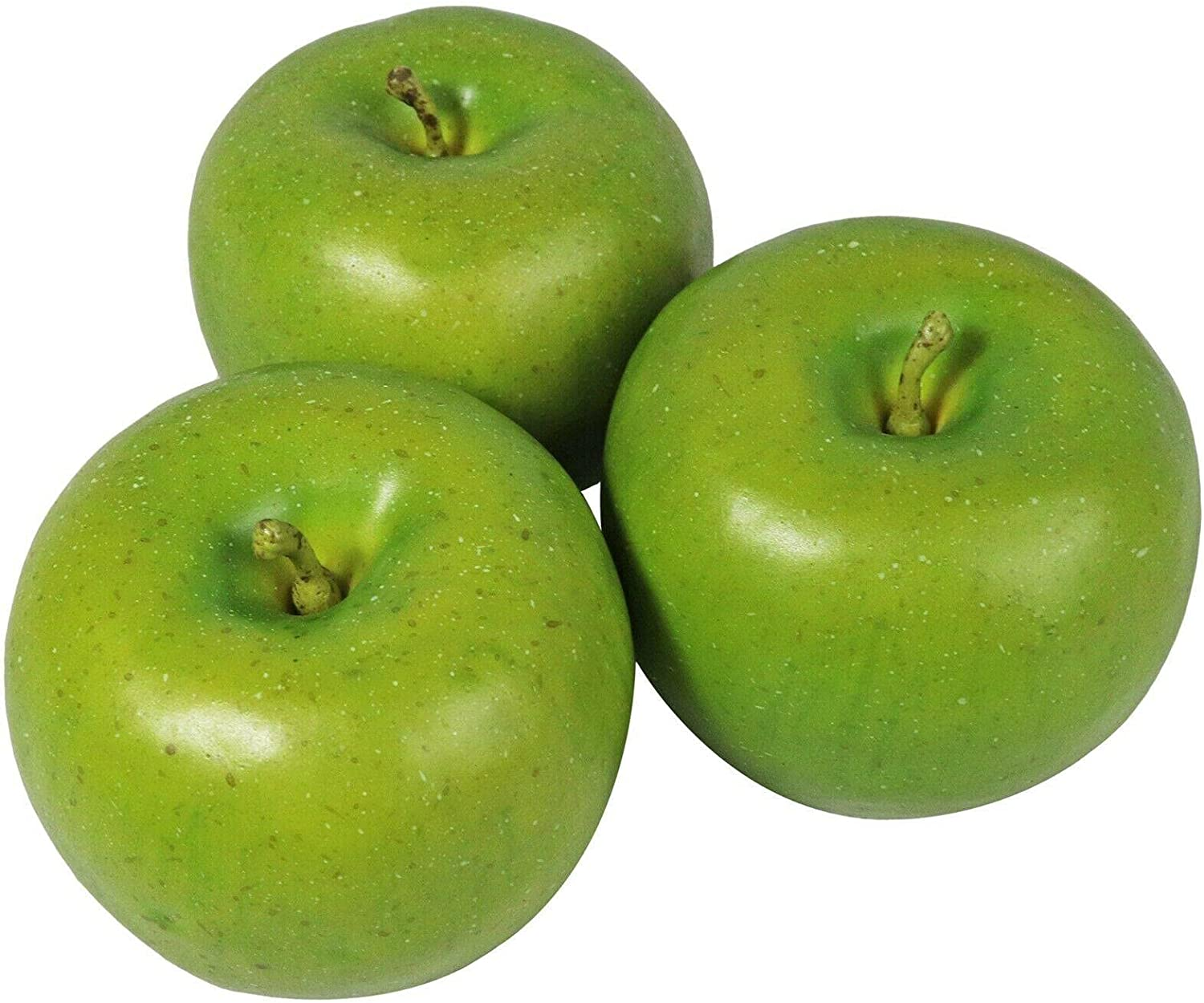 Artificial Ranking TOP17 shipfree Green Apples Fruit Realistic Hand Lifelike Made Decor