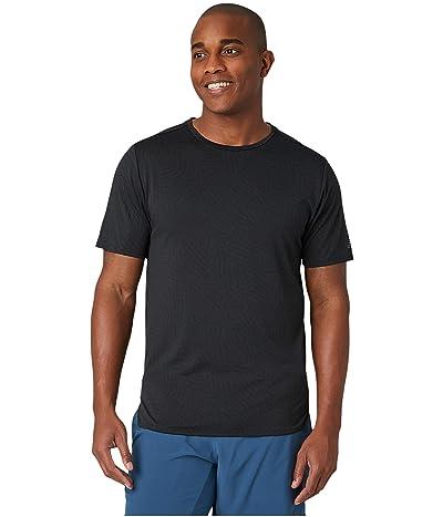 New Balance Q Speed Jacquard Short Sleeve Tee (Black) Men
