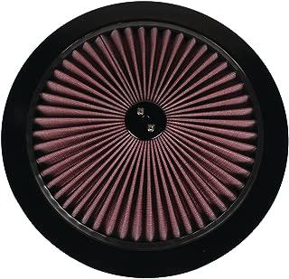 Super Flow Air Filter Top, 14 Inch, Black