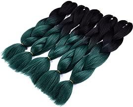 Best ombre green box braids Reviews