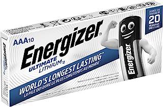 Energizer Ultimate Lithium - Pack de 10 pilas Ultimate Lithium AAA