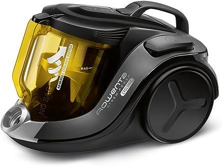 Rowenta X-Trem Power Cyclonic Aspirador, filtración de aire y suciedad, eficiencia energética A A, 750 W, 2.5 litros, 75 Decibelios, Amarillo