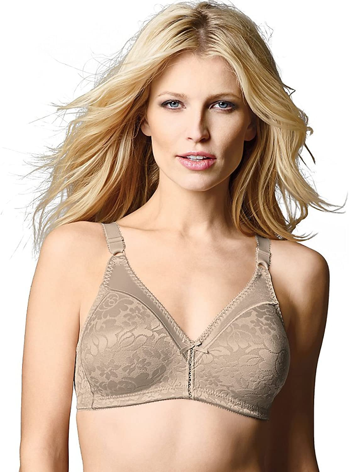 Bali Double Support Lace Wirefree Bra