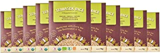 Temasek Rice Fragrant Brown Rice, 1 KG (Pack of 10)