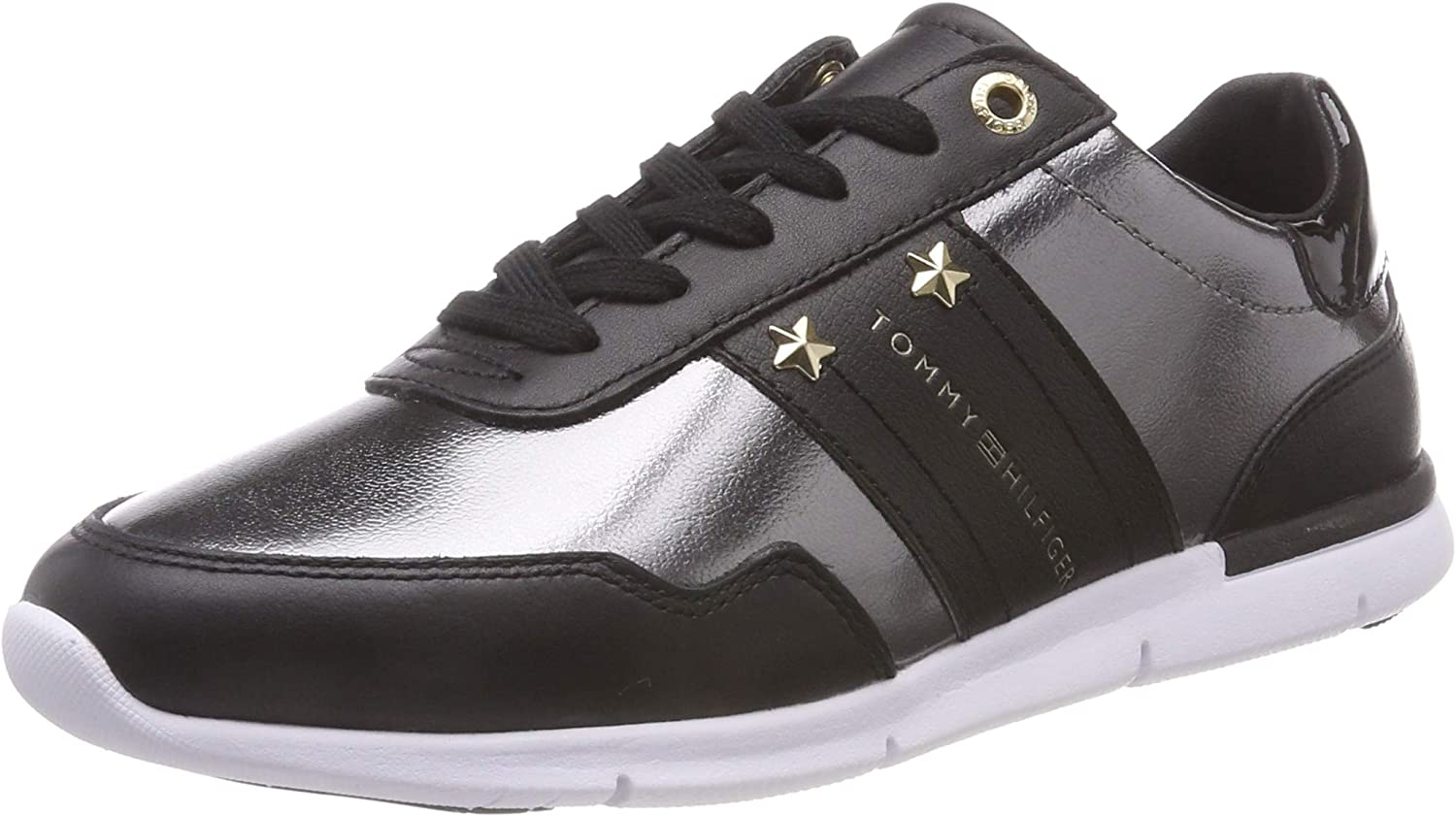 Tommy Tommy Tommy Hilfiger Damen Tommy Essential Leather Turnschuhe  c4d177
