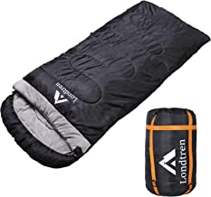 Wide Sleeping Bag Big and Tall Sleeping Bags Extra Large for Cold Weather Winter Adults Camping 0 Degree Below Zero 30 20 10 15 Degree XL Warm Flannel Lined XXL Outdoor Sports Man Backpacking