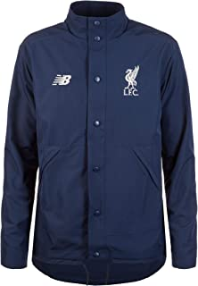Liverpool FC Navy Mens Soccer NB Sportswear Terrace Jacket 18/19 LFC Official