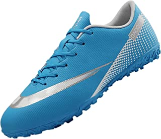 Topwolve Football Boots Men's Breathable Turf Trainers Outdoor Cleats Professional Athletics Sneakers Teens Wear-Resistenc...