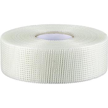 10-100mm*20m Profi Gitterband Fugenband Glasfaser Band Gewebeband selbstklebend