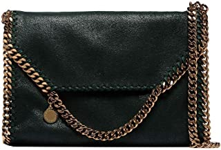Luxury Fashion | Stella Mccartney Womens 557837W93553003 Green Shoulder Bag | Fall Winter 19