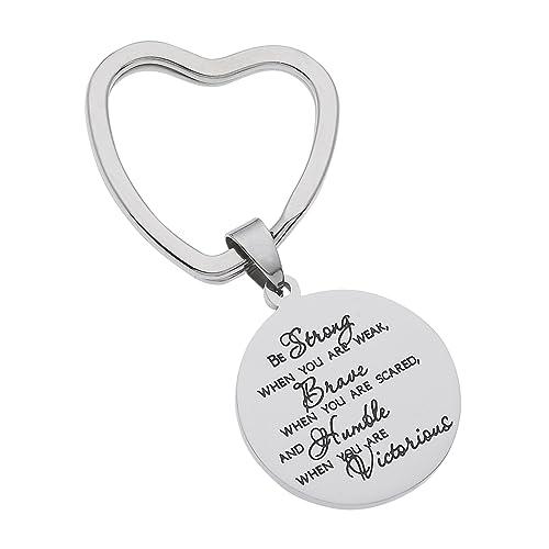 Inspirational Keychains: Amazon com