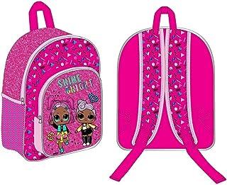 Factorycr Mochila Pink Glitter Lol Surprise, 28x23x4cm