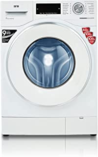 IFB 8.5 kg 5 Star Fully-Automatic Front Loading Washing Machine (EXECUTIVE PLUS VX ID, White, In-Built Heater, 4D Wash tec...