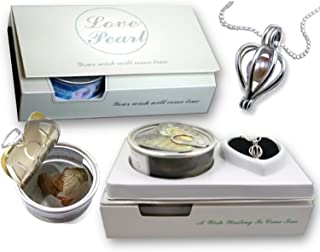 Gifts Online Wish Pearl in Oyster Pendant Necklace with Earrings - Valentine Special Gift (Assorted Colours)