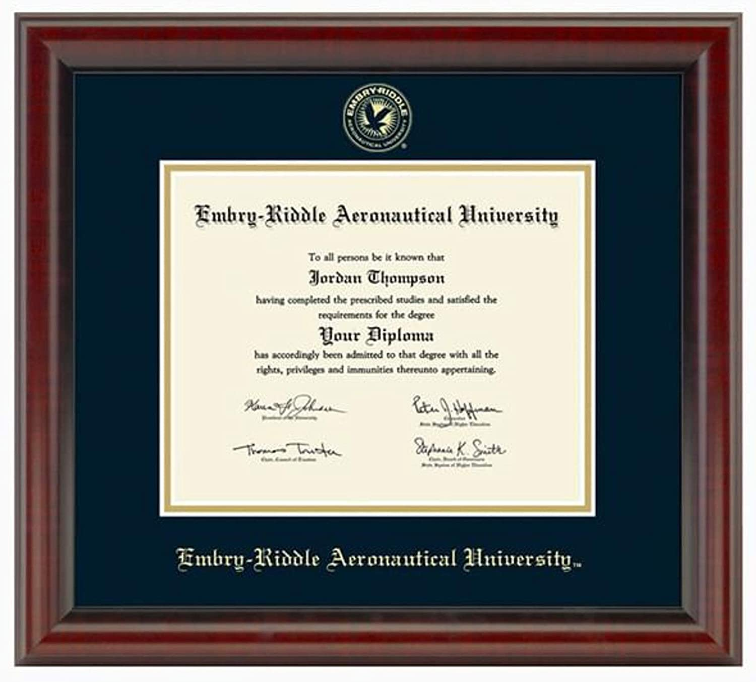 M. Ranking TOP16 LA HART Embry-Riddle Diploma Brand new The Frame Fidelitas