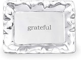 Beatriz Ball Giftables Vento Rect Engraved Tray- Grateful