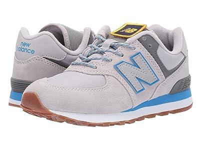 New Balance Kids Camp 574 (Little Kid) (Raincloud/Lapis Blue) Boys Shoes