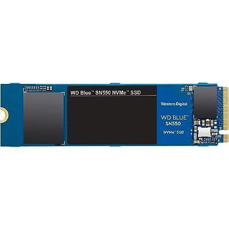 Western Digital Azul SN550 500GB NVMe SSD, Gen3 x4 PCIe, M.2 2280, 3D NAND