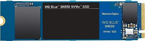Western Digital WD Blue SN550 1TB NVMe SSD 2400MB/s 1950MB/s R/W 600TBW 410K/405K IOPS M.2 2280 PCIe Gen 3 1.7M hrs M...